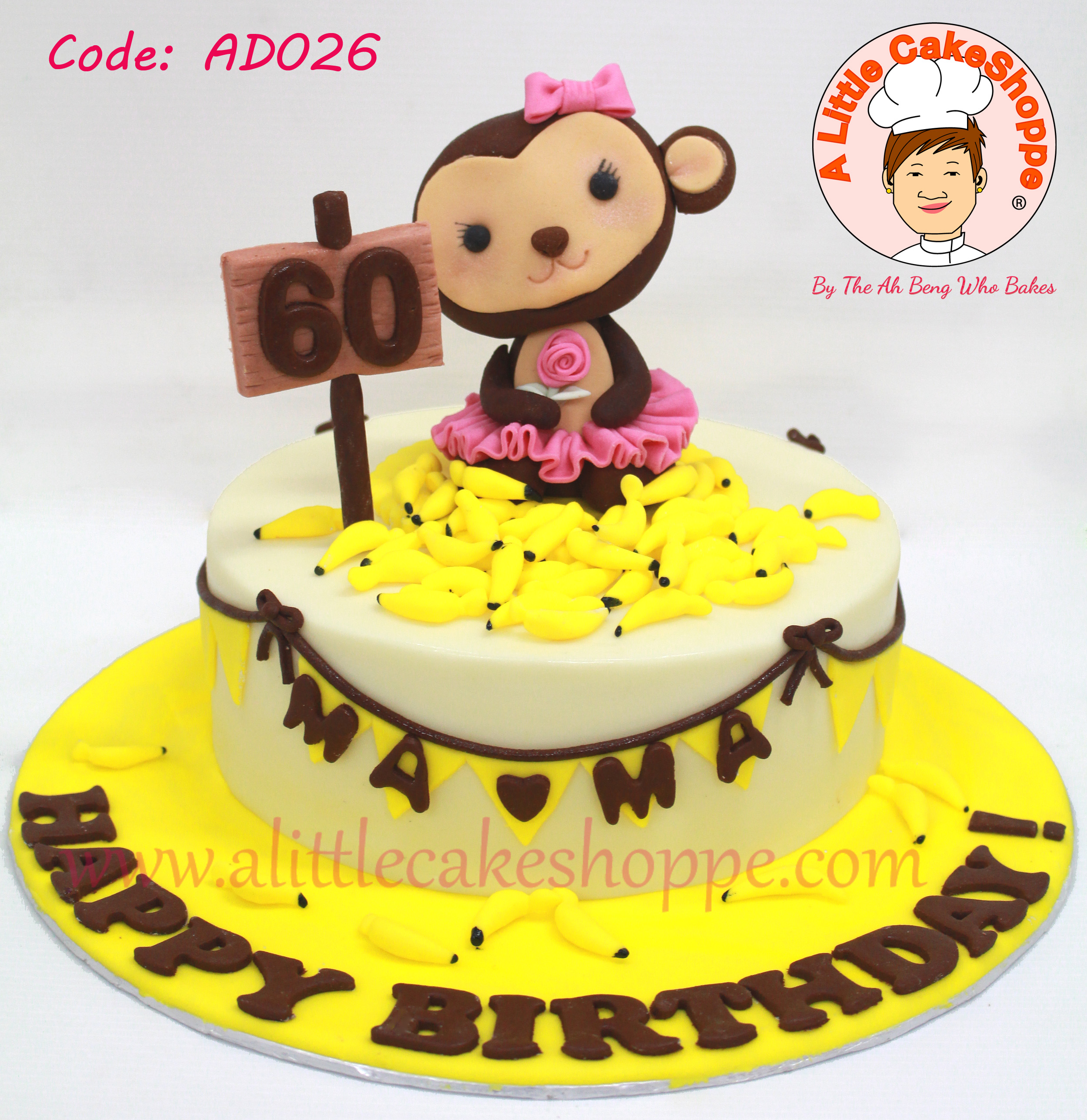 Code: AD026 | A Little CakeShoppe - Singapore Customized 2D and 3D ...