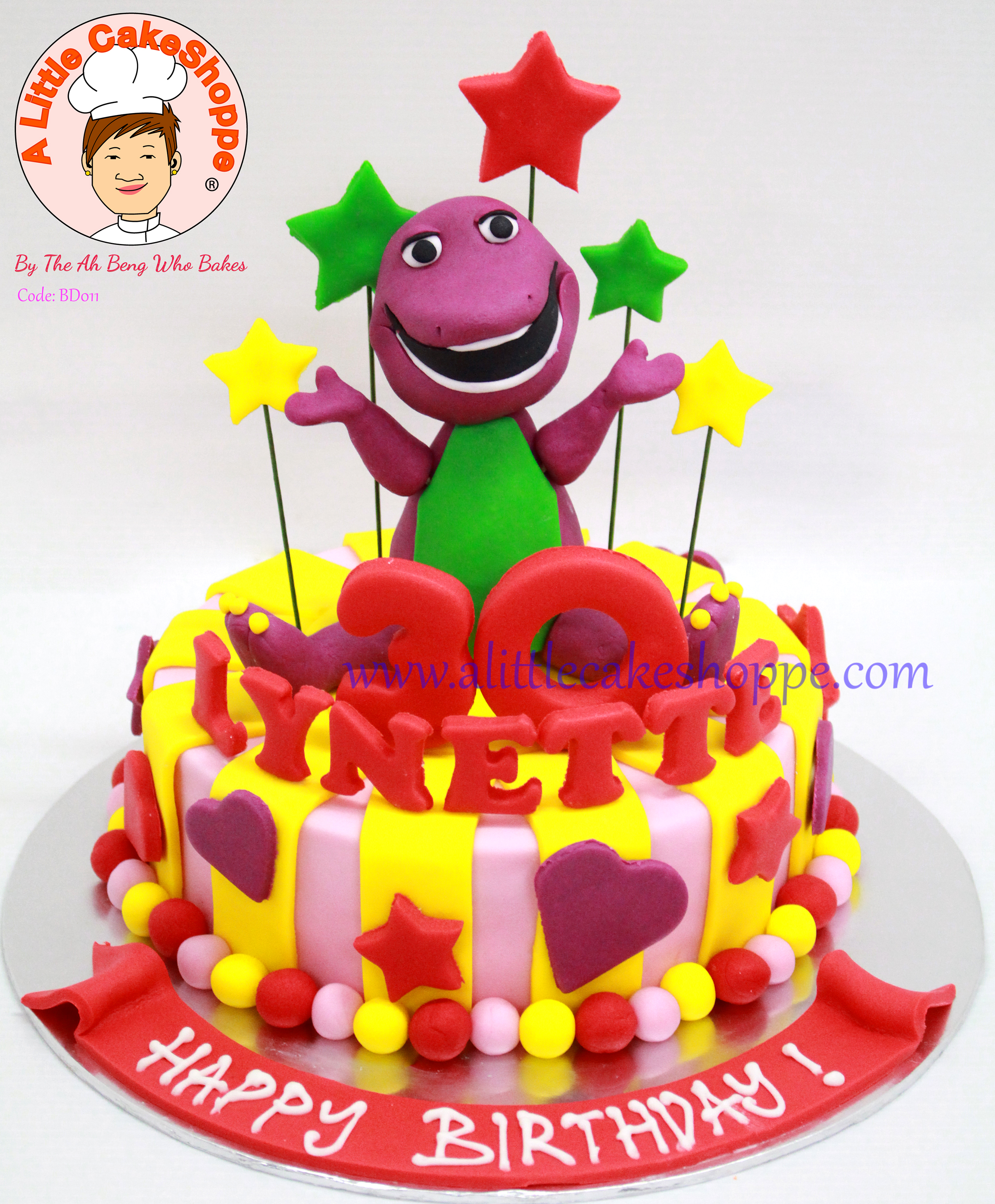 A Little Cakeshoppe Singapore Customized 2d And 3d Cakes Birthday