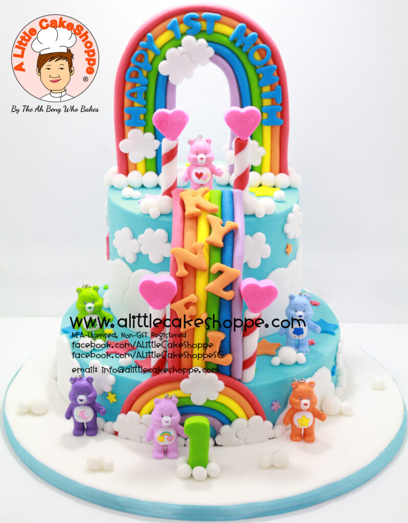 Care Bears A Little Cakeshoppe Singapore Customized 2d And 3d