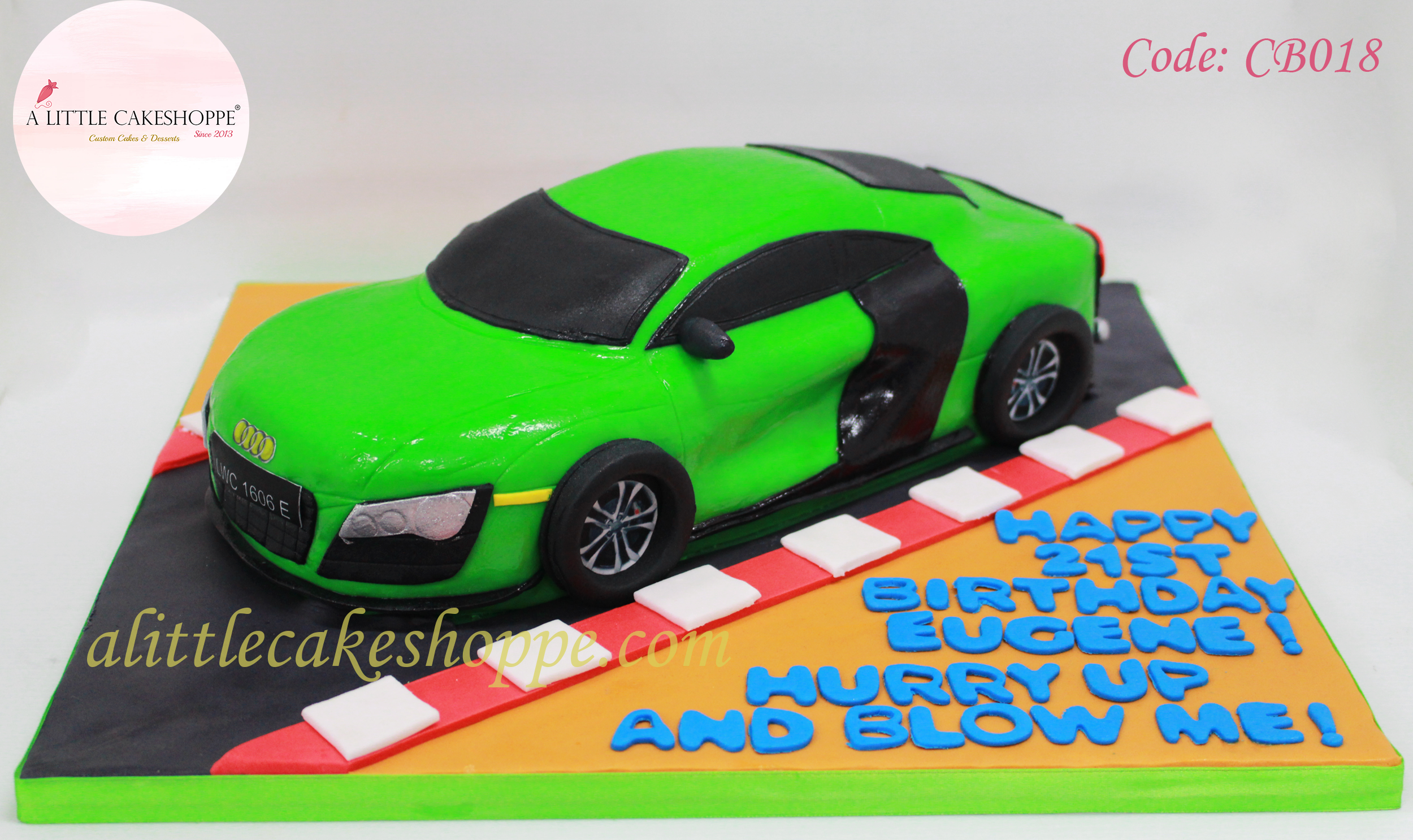 Best Customised Cake Shop Singapore custom cake 2D 3D birthday cake cupcakes desserts wedding corporate events anniversary 1st birthday 21st birthday fondant fresh cream buttercream cakes alittlecakeshoppe a little cake shoppe compliments review singapore bakers SG cake shop cakeshop ah beng who bakes car audi