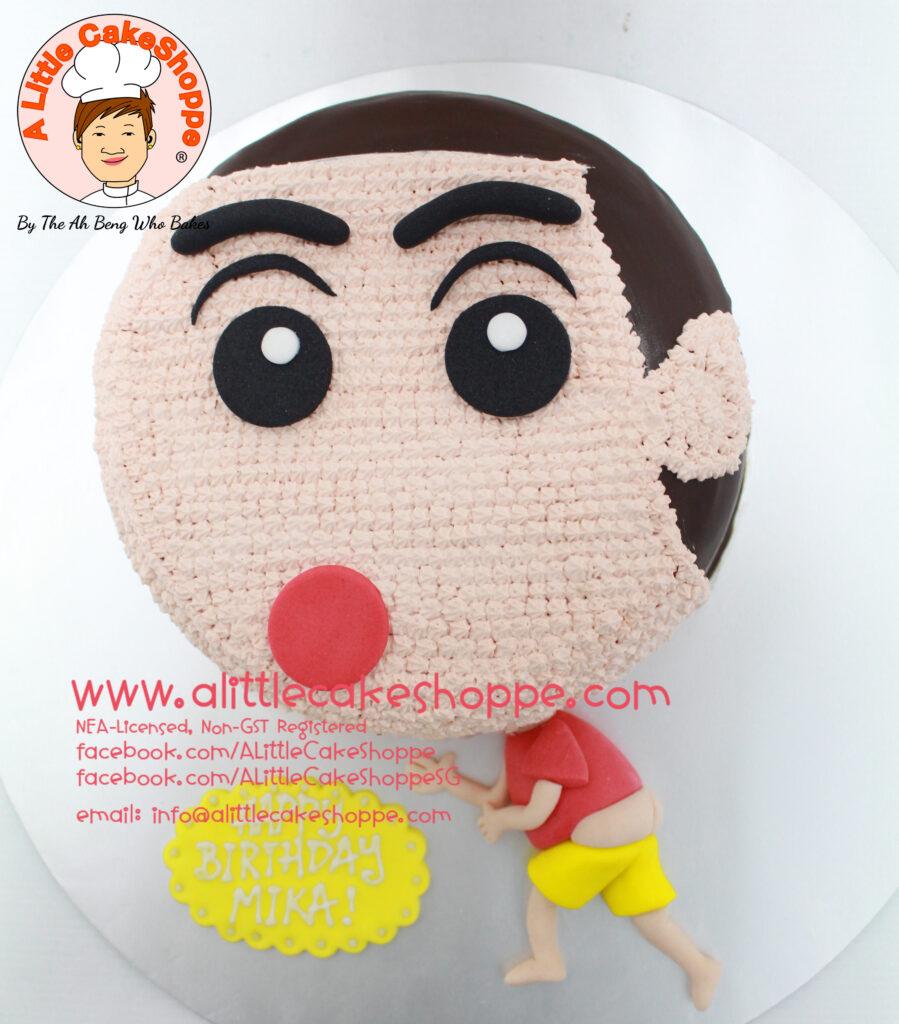crayon shin chan a little cakeshoppe singapore