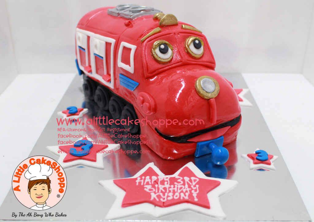 Chuggington Birthday Cake Designs