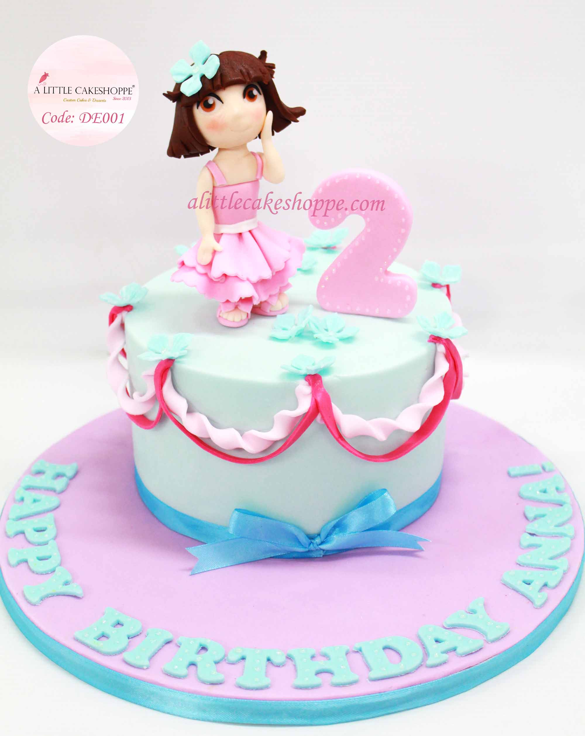 Best Customised Cake Shop Singapore custom cake 2D 3D birthday cake cupcakes desserts wedding corporate events anniversary 1st birthday 21st birthday fondant fresh cream buttercream cakes alittlecakeshoppe a little cake shoppe compliments review singapore bakers SG cake shop cakeshop ah beng who bakes dora the explorer
