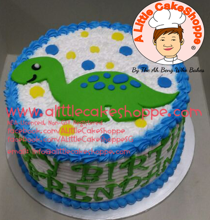 Best Customised Cake Shop Singapore custom cake 2D 3D birthday cake cupcakes desserts wedding corporate events anniversary 1st birthday 21st birthday fondant fresh cream buttercream cakes alittlecakeshoppe a little cake shoppe compliments review singapore bakers SG cake shop cakeshop ah beng who bakes dinosaur