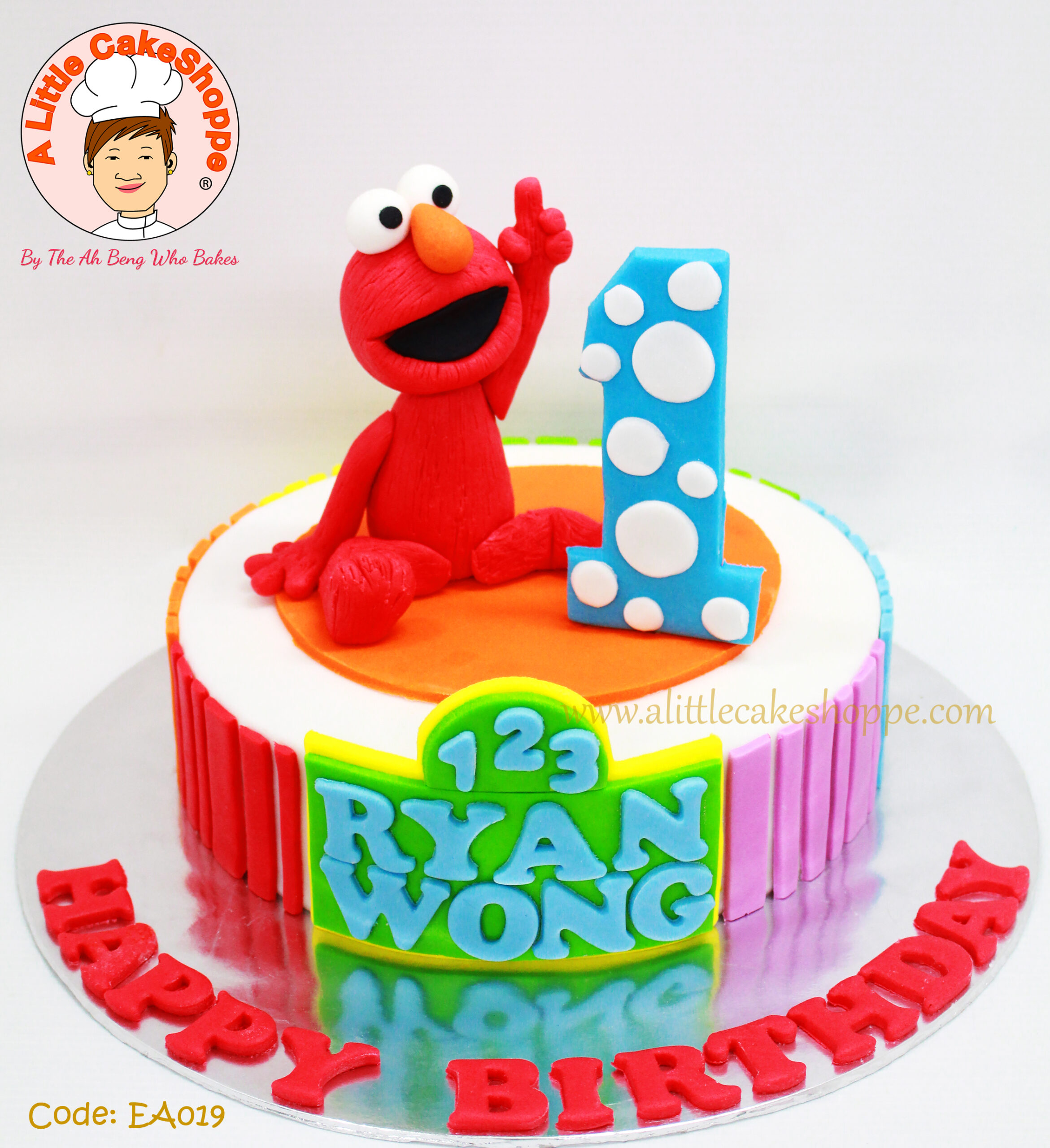 Best Customised Cake Shop Singapore custom cake 2D 3D birthday cake cupcakes desserts wedding corporate events anniversary 1st birthday 21st birthday fondant fresh cream buttercream cakes alittlecakeshoppe a little cake shoppe compliments review singapore bakers SG cake shop cakeshop ah beng who bakes elmo sesame street cookie monster