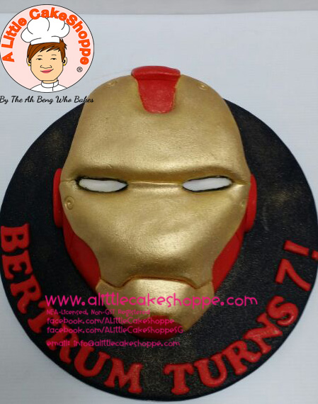 Best Customised Cake Shop Singapore custom cake 2D 3D birthday cake cupcakes desserts wedding corporate events anniversary 1st birthday 21st birthday fondant fresh cream buttercream cakes alittlecakeshoppe a little cake shoppe compliments review singapore bakers SG cake shop cakeshop ah beng who bakes superhero iron man dc hero avengers