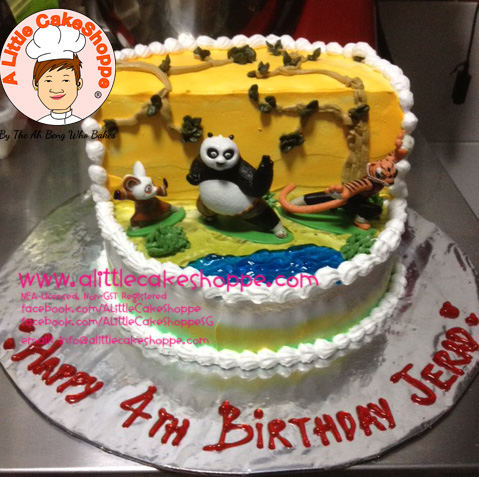 Best Customised Cake Shop Singapore custom cake 2D 3D birthday cake cupcakes desserts wedding corporate events anniversary 1st birthday 21st birthday fondant fresh cream buttercream cakes alittlecakeshoppe a little cake shoppe compliments review singapore bakers SG cake shop cakeshop ah beng who bakes kungfu panda