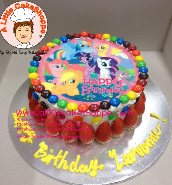 Best Customised Cake Shop Singapore custom cake 2D 3D birthday cake cupcakes desserts wedding corporate events anniversary 1st birthday 21st birthday fondant fresh cream buttercream cakes alittlecakeshoppe a little cake shoppe compliments review singapore bakers SG cake shop cakeshop ah beng who bakes my little pony MLP