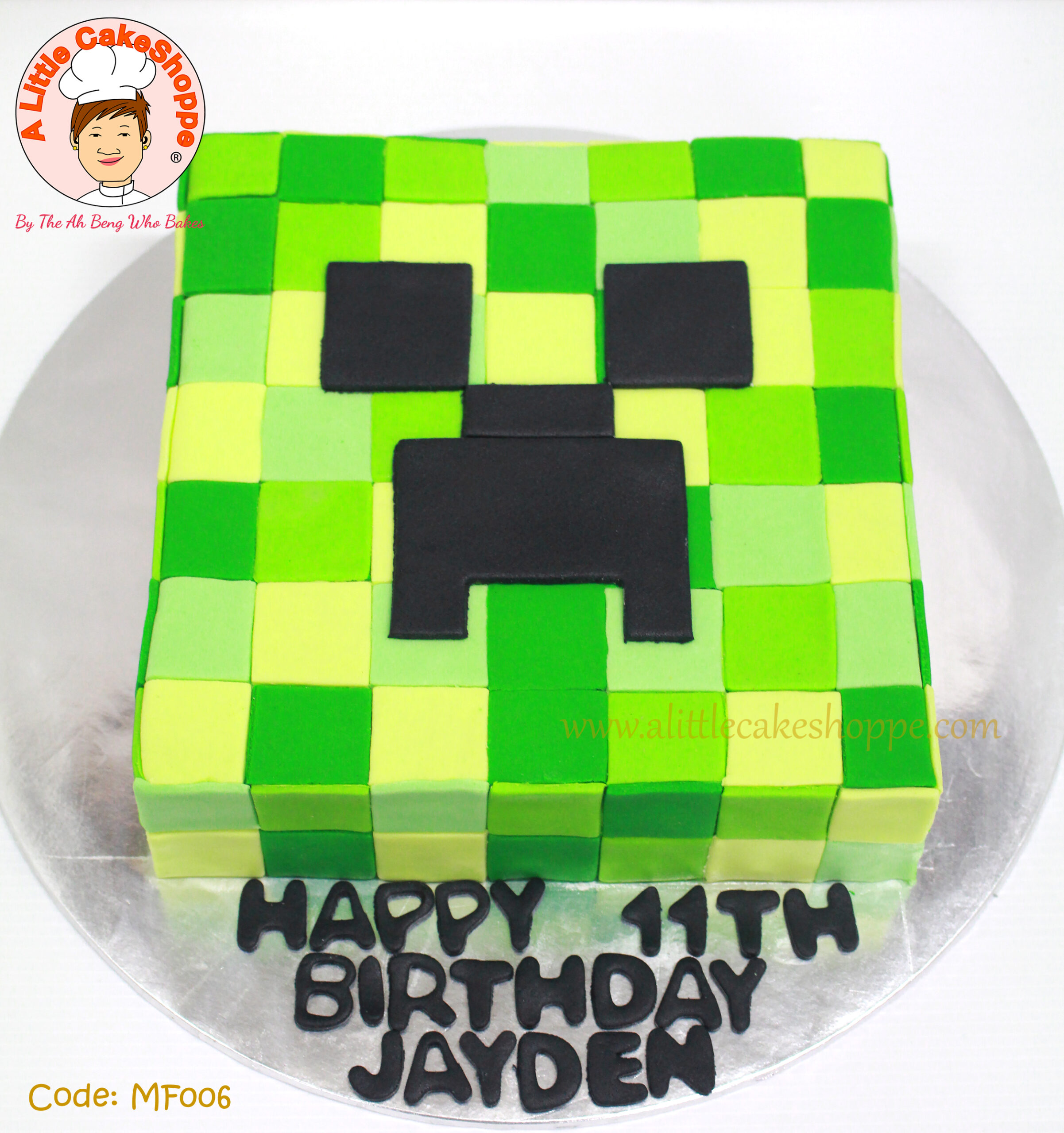 Best Customised Cake Shop Singapore custom cake 2D 3D birthday cake cupcakes desserts wedding corporate events anniversary 1st birthday 21st birthday fondant fresh cream buttercream cakes alittlecakeshoppe a little cake shoppe compliments review singapore bakers SG cake shop cakeshop ah beng who bakes minecraft