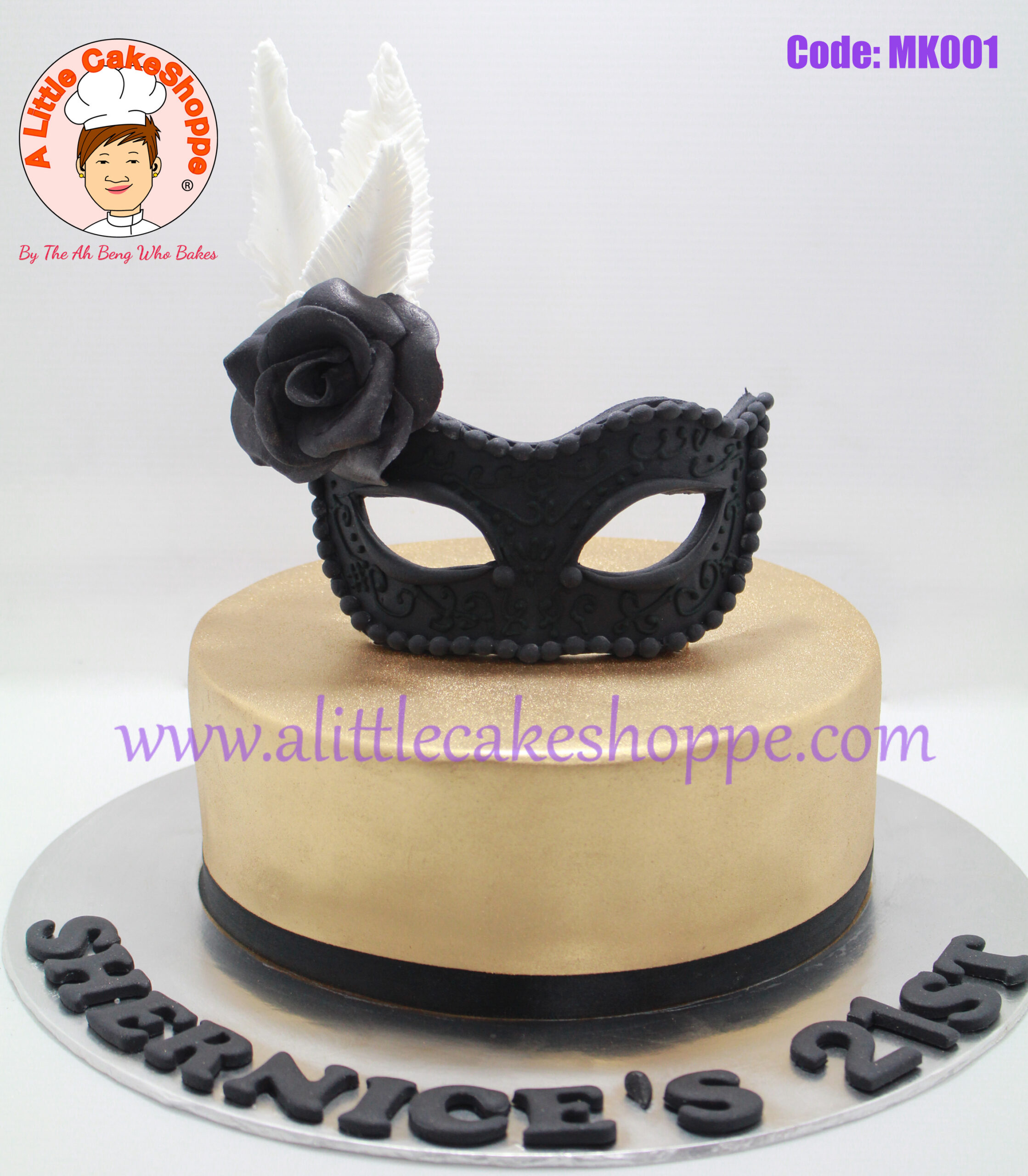 Best Customised Cake Shop Singapore custom cake 2D 3D birthday cake cupcakes desserts wedding corporate events anniversary 1st birthday 21st birthday fondant fresh cream buttercream cakes alittlecakeshoppe a little cake shoppe compliments review singapore bakers SG cake shop cakeshop ah beng who bakes masquerade