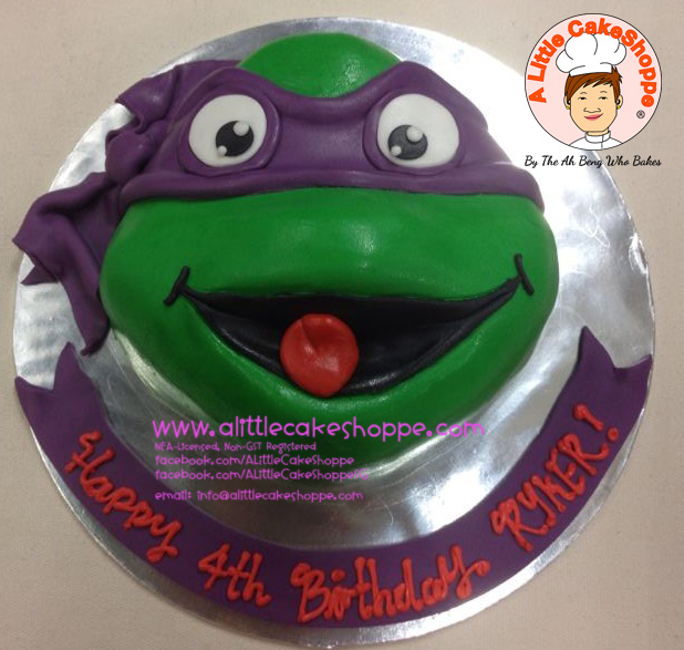 Best Customised Cake Shop Singapore custom cake 2D 3D birthday cake cupcakes desserts wedding corporate events anniversary 1st birthday 21st birthday fondant fresh cream buttercream cakes alittlecakeshoppe a little cake shoppe compliments review singapore bakers SG cake shop cakeshop ah beng who bakes teenage mutant ninja turtle