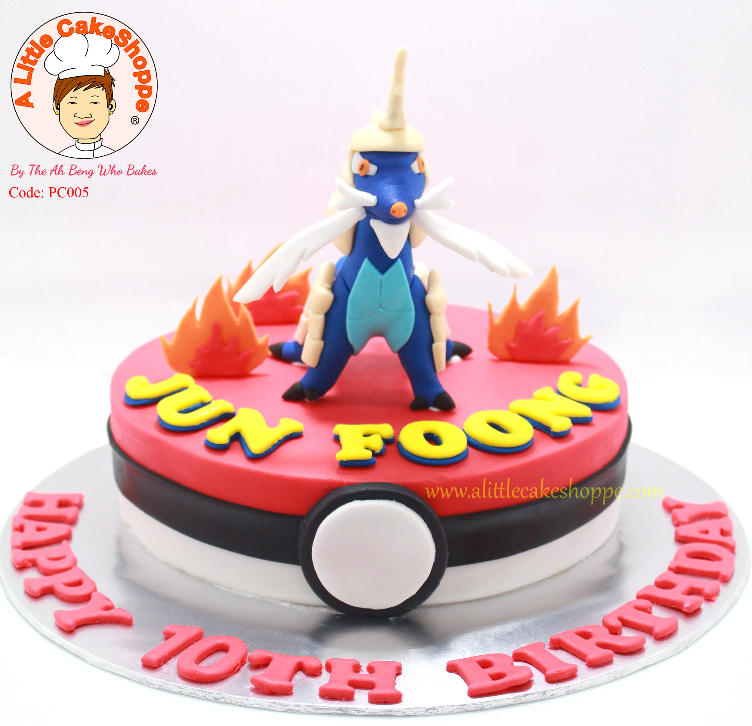 Best Customised Cake Shop Singapore custom cake 2D 3D birthday cake cupcakes desserts wedding corporate events anniversary 1st birthday 21st birthday fondant fresh cream buttercream cakes alittlecakeshoppe a little cake shoppe compliments review singapore bakers SG cake shop cakeshop ah beng who bakes pokemon