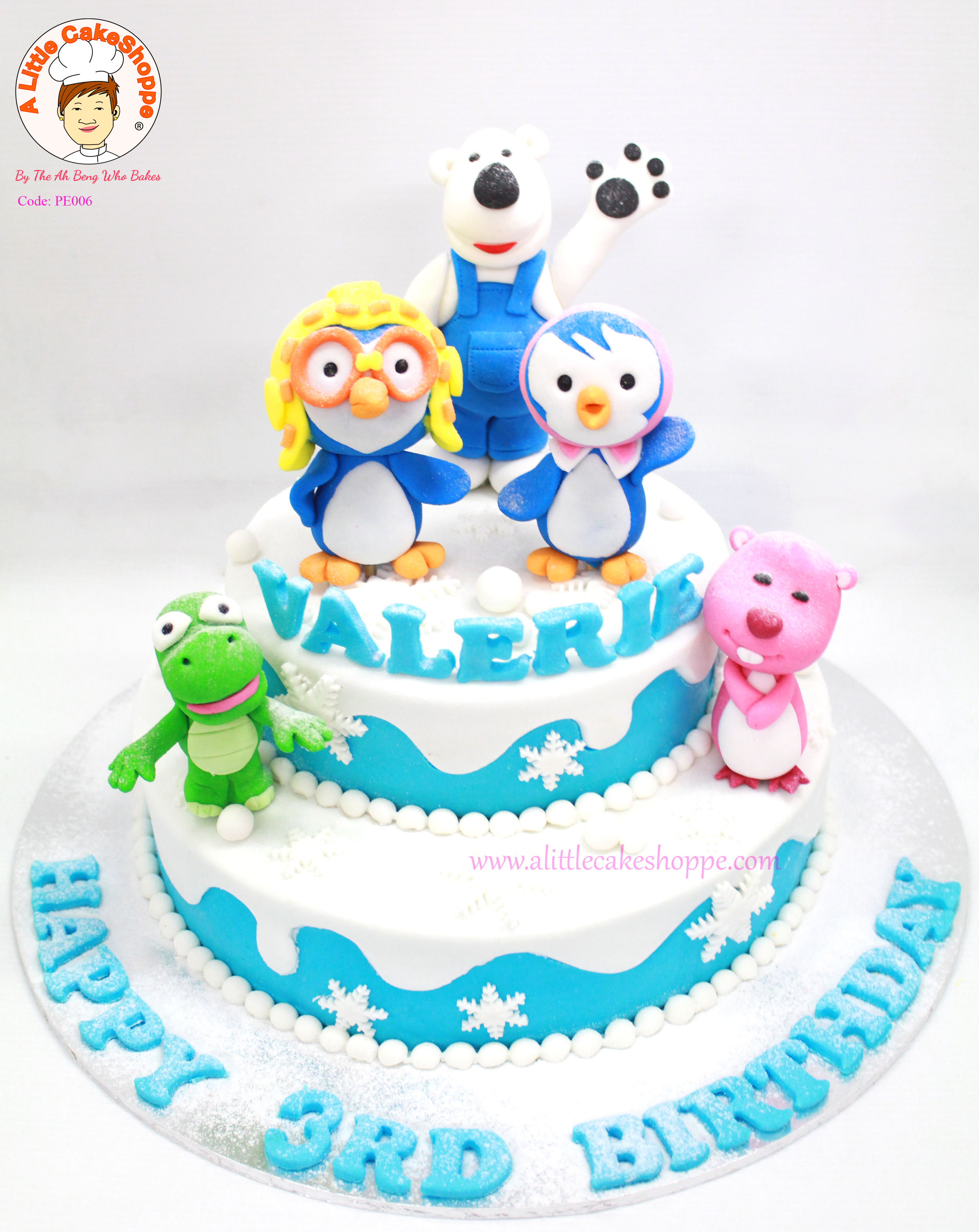Pororo Birthday Cake Singapore