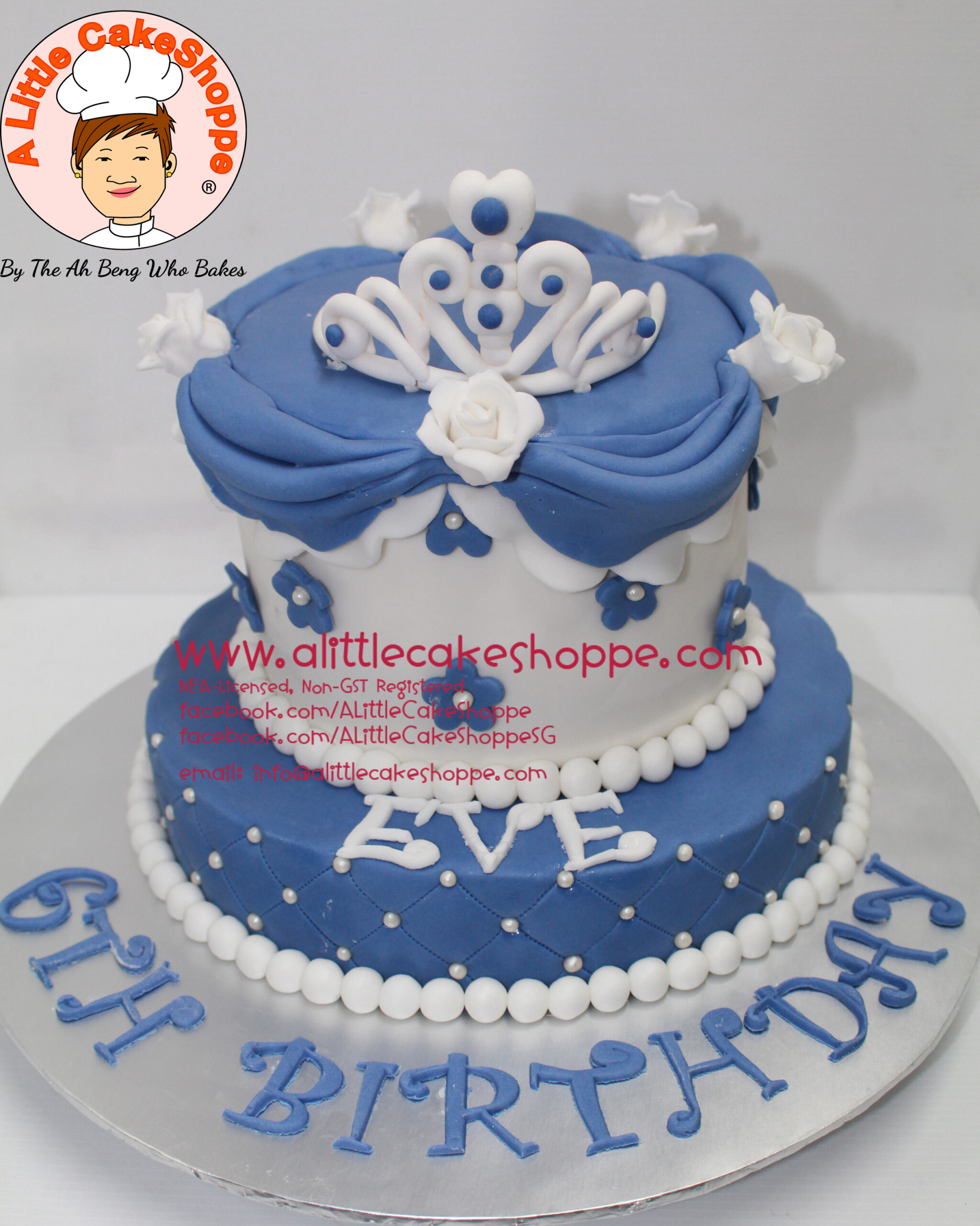 Best Customised Cake Shop Singapore custom cake 2D 3D birthday cake cupcakes desserts wedding corporate events anniversary 1st birthday 21st birthday fondant fresh cream buttercream cakes alittlecakeshoppe a little cake shoppe compliments review singapore bakers SG cake shop cakeshop ah beng who bakes princess sofia