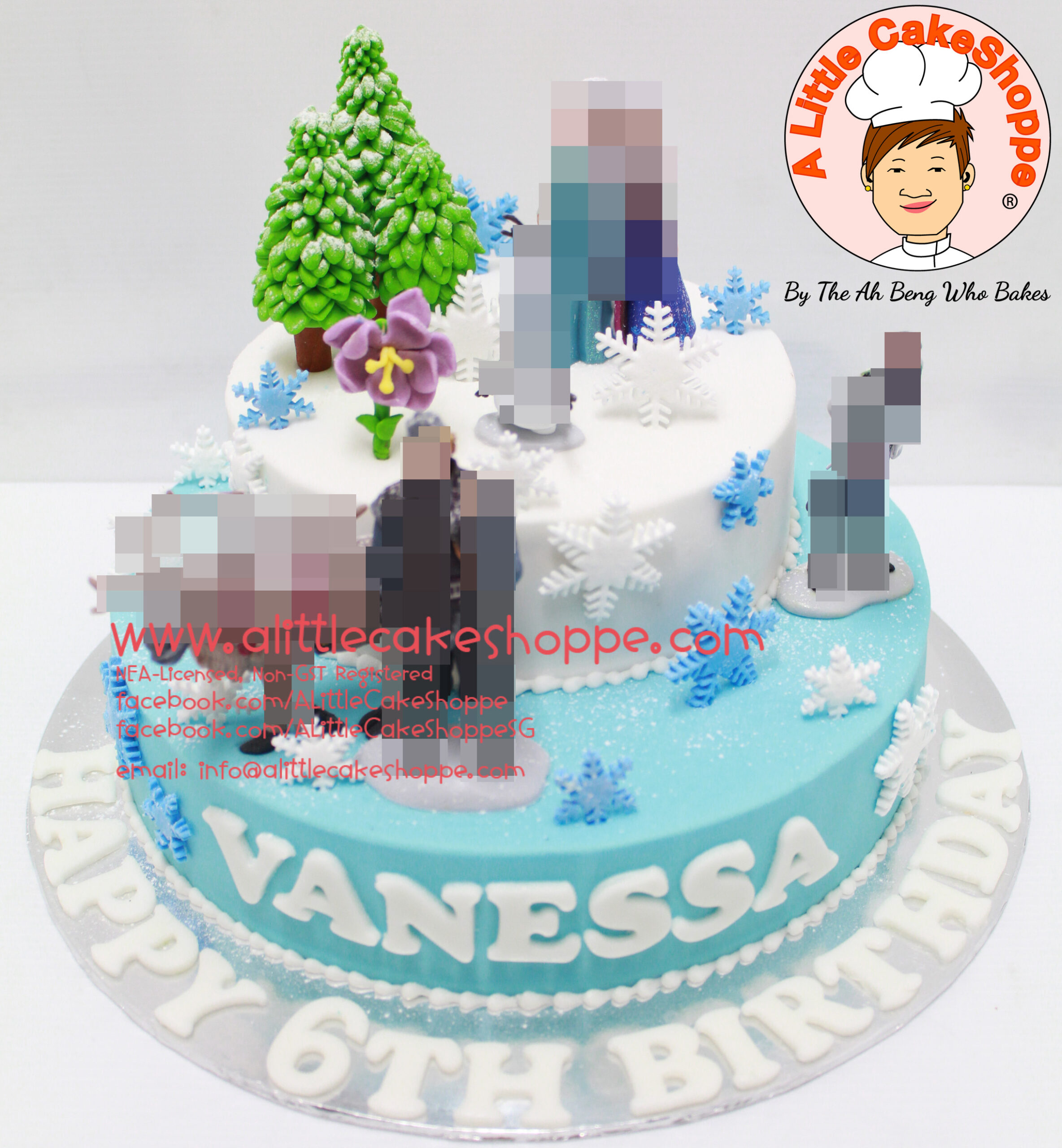 Best Customised Cake Shop Singapore custom cake 2D 3D birthday cake cupcakes desserts wedding corporate events anniversary 1st birthday 21st birthday fondant fresh cream buttercream cakes alittlecakeshoppe a little cake shoppe compliments review singapore bakers SG cake shop cakeshop ah beng who bakes princess frozen