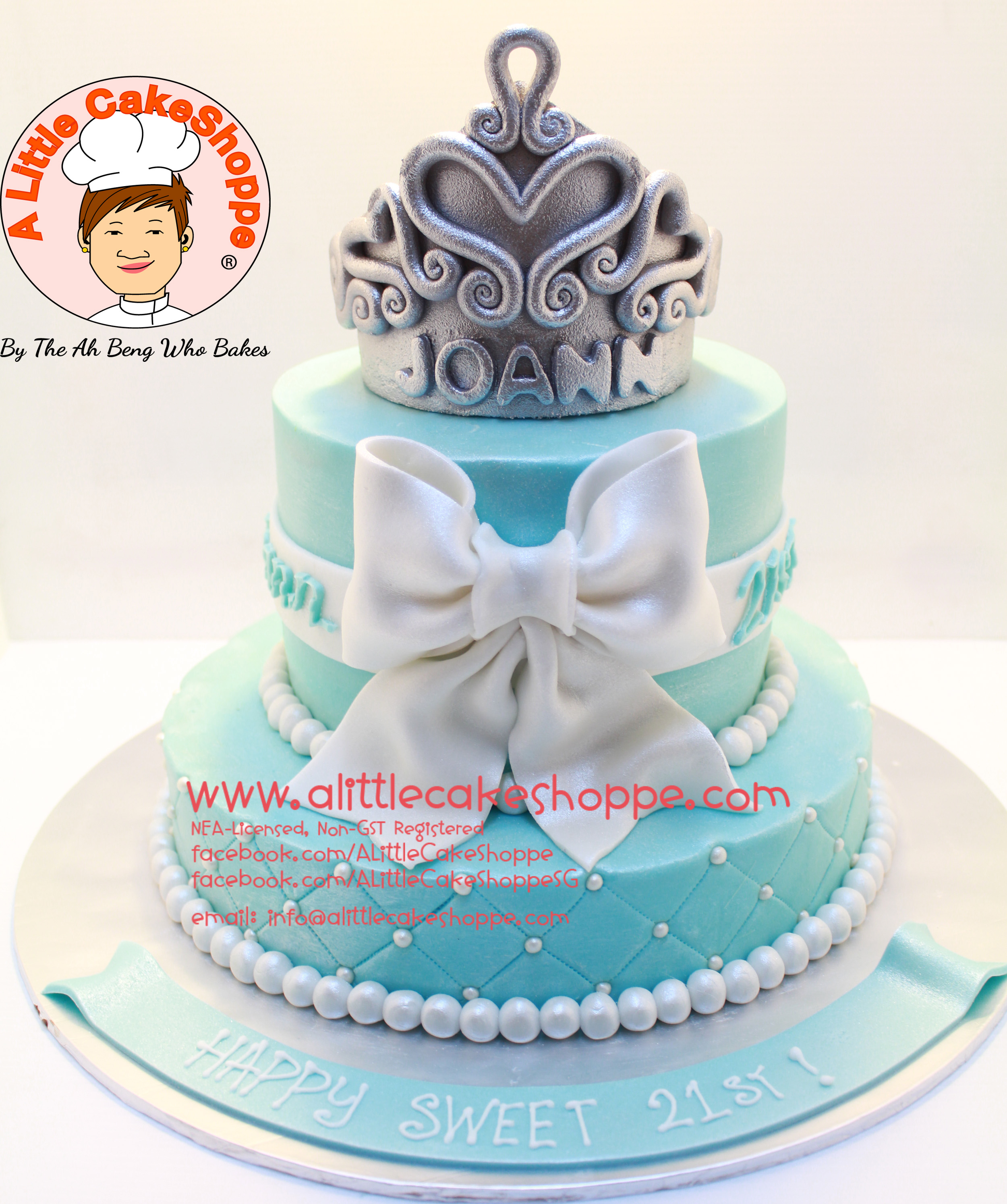 Code Ph017 A Little Cakeshoppe Singapore Customized 2d And 3d