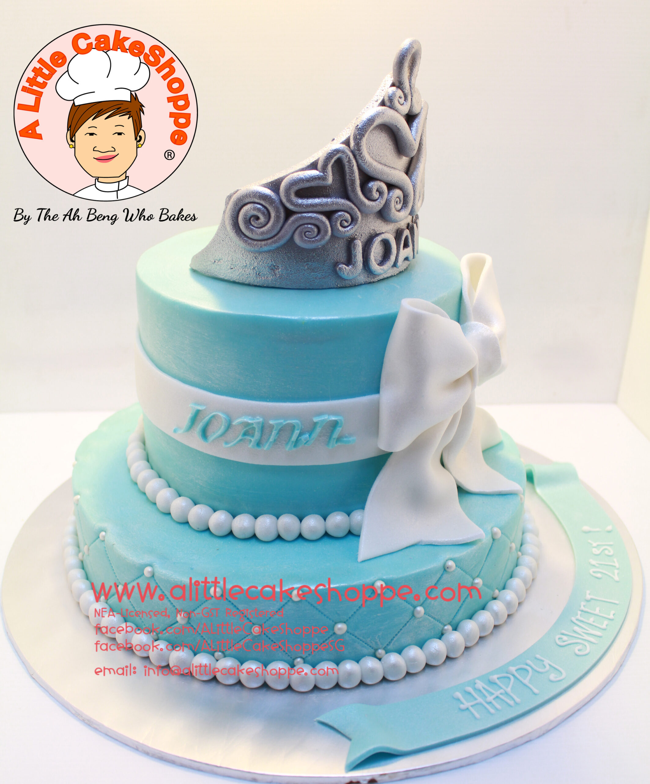 Best Customised Cake Shop Singapore custom cake 2D 3D birthday cake cupcakes desserts wedding corporate events anniversary 1st birthday 21st birthday fondant fresh cream buttercream cakes alittlecakeshoppe a little cake shoppe compliments review singapore bakers SG cake shop cakeshop ah beng who bakes princess