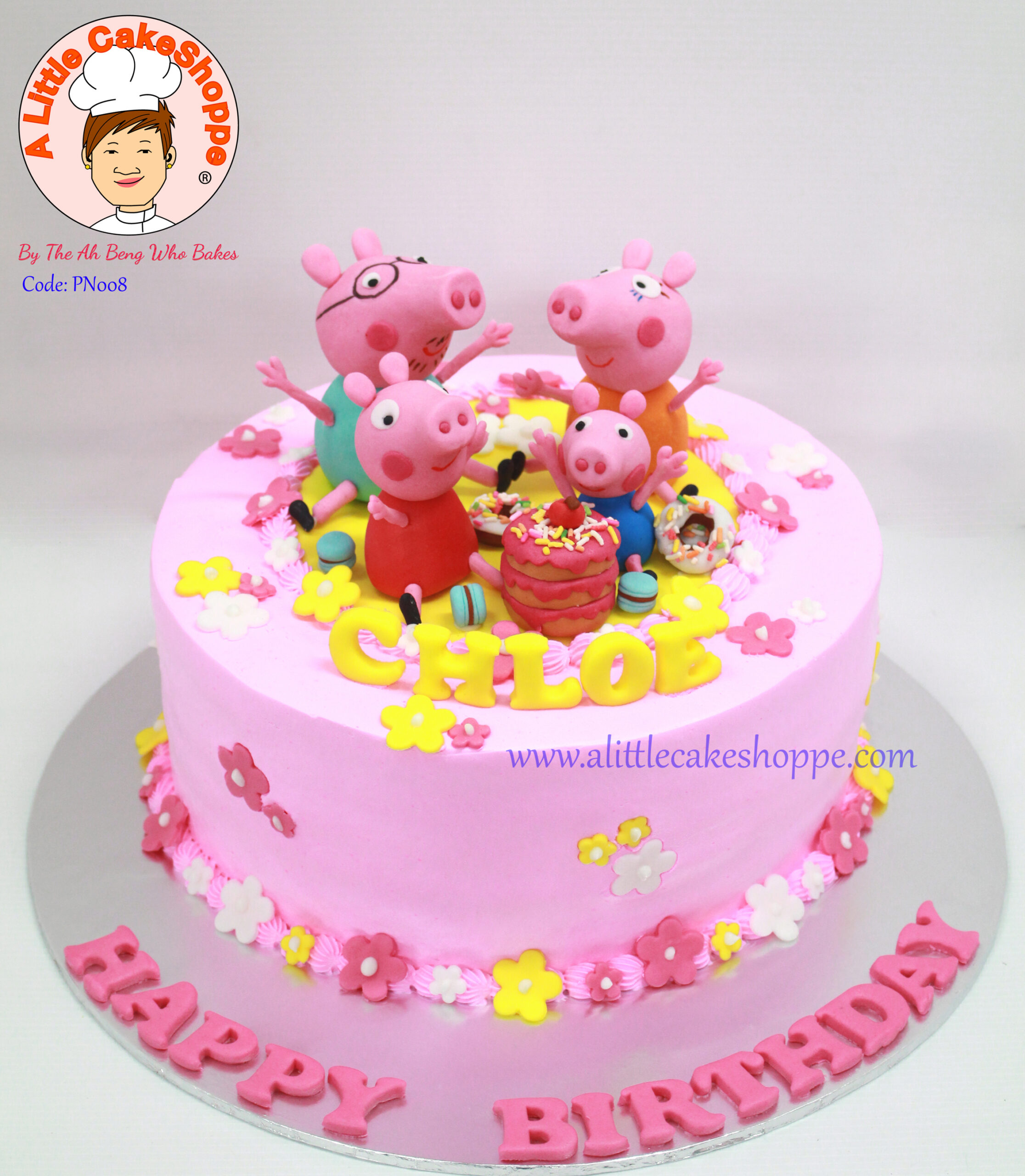 Best Customised Cake Shop Singapore custom cake 2D 3D birthday cake cupcakes desserts wedding corporate events anniversary 1st birthday 21st birthday fondant fresh cream buttercream cakes alittlecakeshoppe a little cake shoppe compliments review singapore bakers SG cake shop cakeshop ah beng who bakes peppa pig