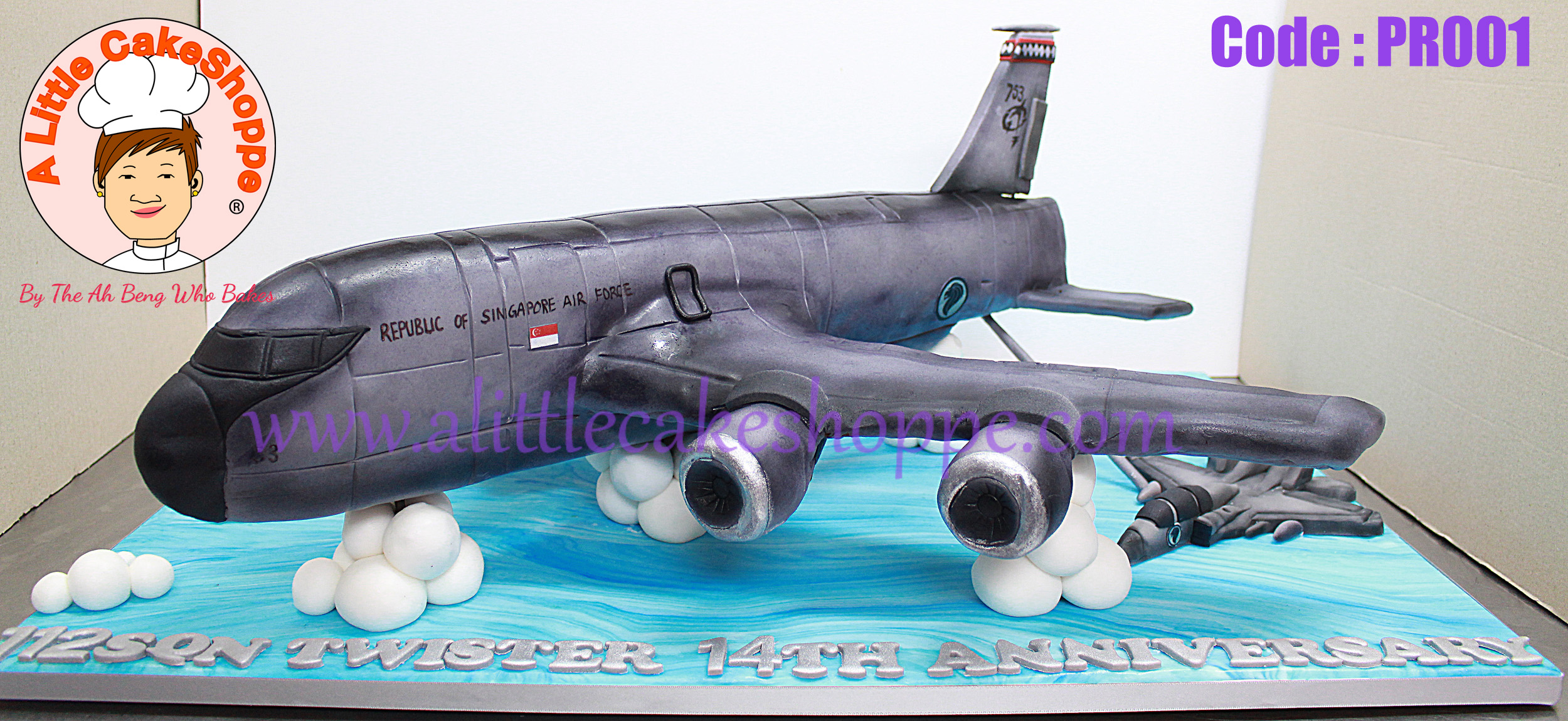 Best Customised Cake Shop Singapore custom cake 2D 3D birthday cake cupcakes desserts wedding corporate events anniversary 1st birthday 21st birthday fondant fresh cream buttercream cakes alittlecakeshoppe a little cake shoppe compliments review singapore bakers SG cake shop cakeshop ah beng who bakes plane rsaf