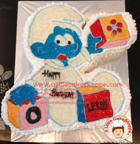 Best Customised Cake Singapore custom cake 2D 3D birthday cake cupcakes desserts wedding corporate events anniversary 1st birthday 21st birthday fondant fresh cream buttercream cakes alittlecakeshoppe a little cake shoppe compliments review singapore bakers SG cake shop cakeshop ah beng who bakes smurf