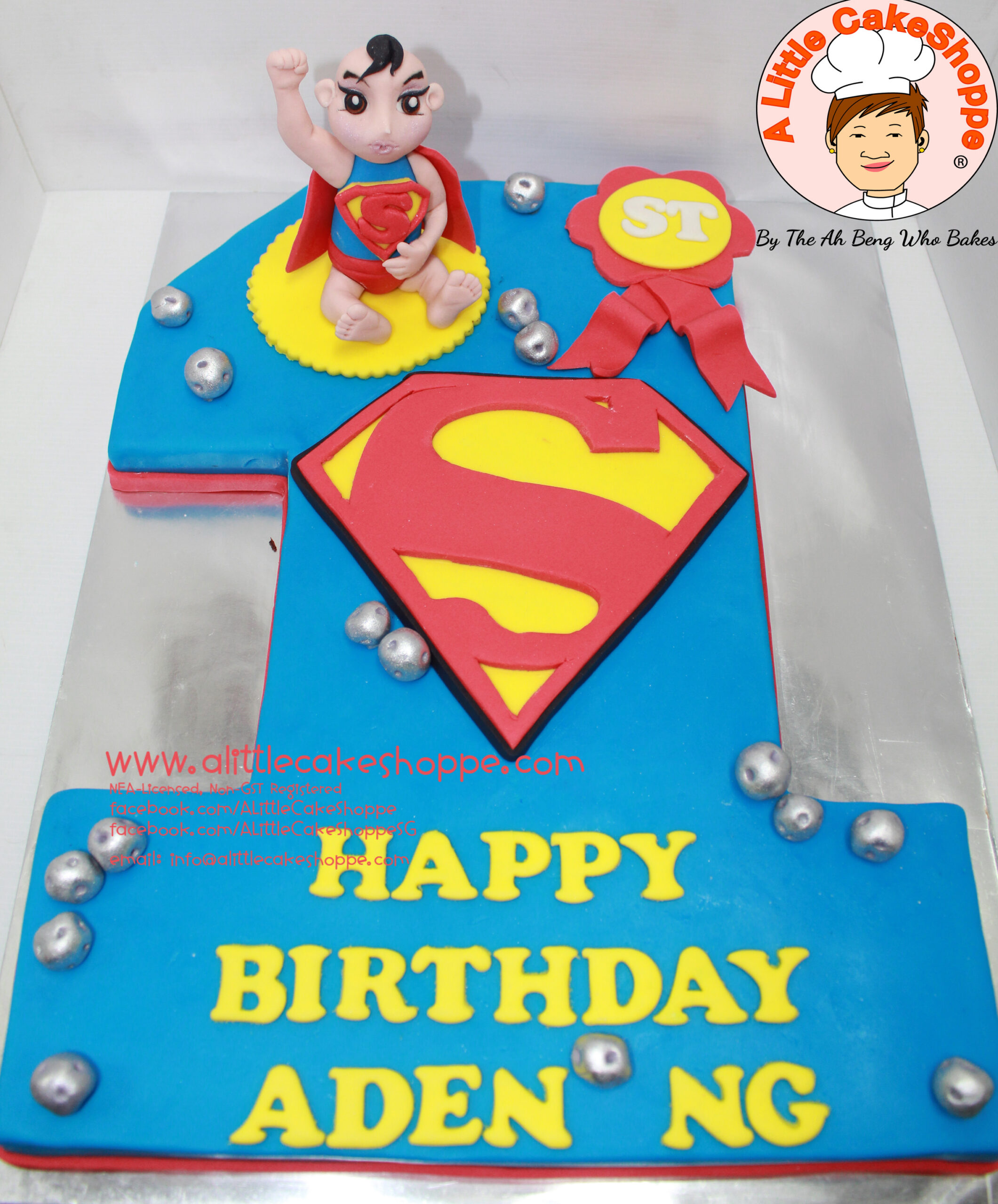 Best Customised Cake Singapore custom cake 2D 3D birthday cake cupcakes desserts wedding corporate events anniversary 1st birthday 21st birthday fondant fresh cream buttercream cakes alittlecakeshoppe a little cake shoppe compliments review singapore bakers SG cakeshop ah beng who bakes superhero avengers dc hero superman