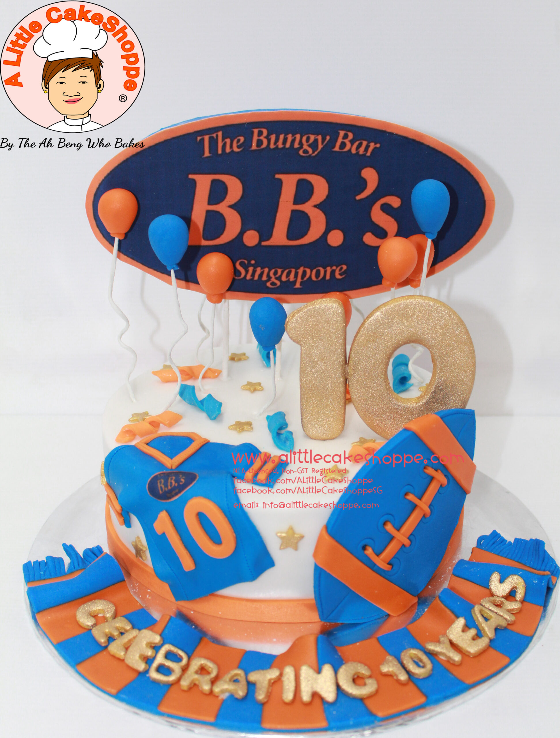 Best Customised Cake Singapore custom cake 2D 3D birthday cake cupcakes desserts wedding corporate events anniversary 1st birthday 21st birthday fondant fresh cream buttercream cakes alittlecakeshoppe a little cake shoppe compliments review singapore bakers SG cakeshop ah beng who bakes the bungy bar