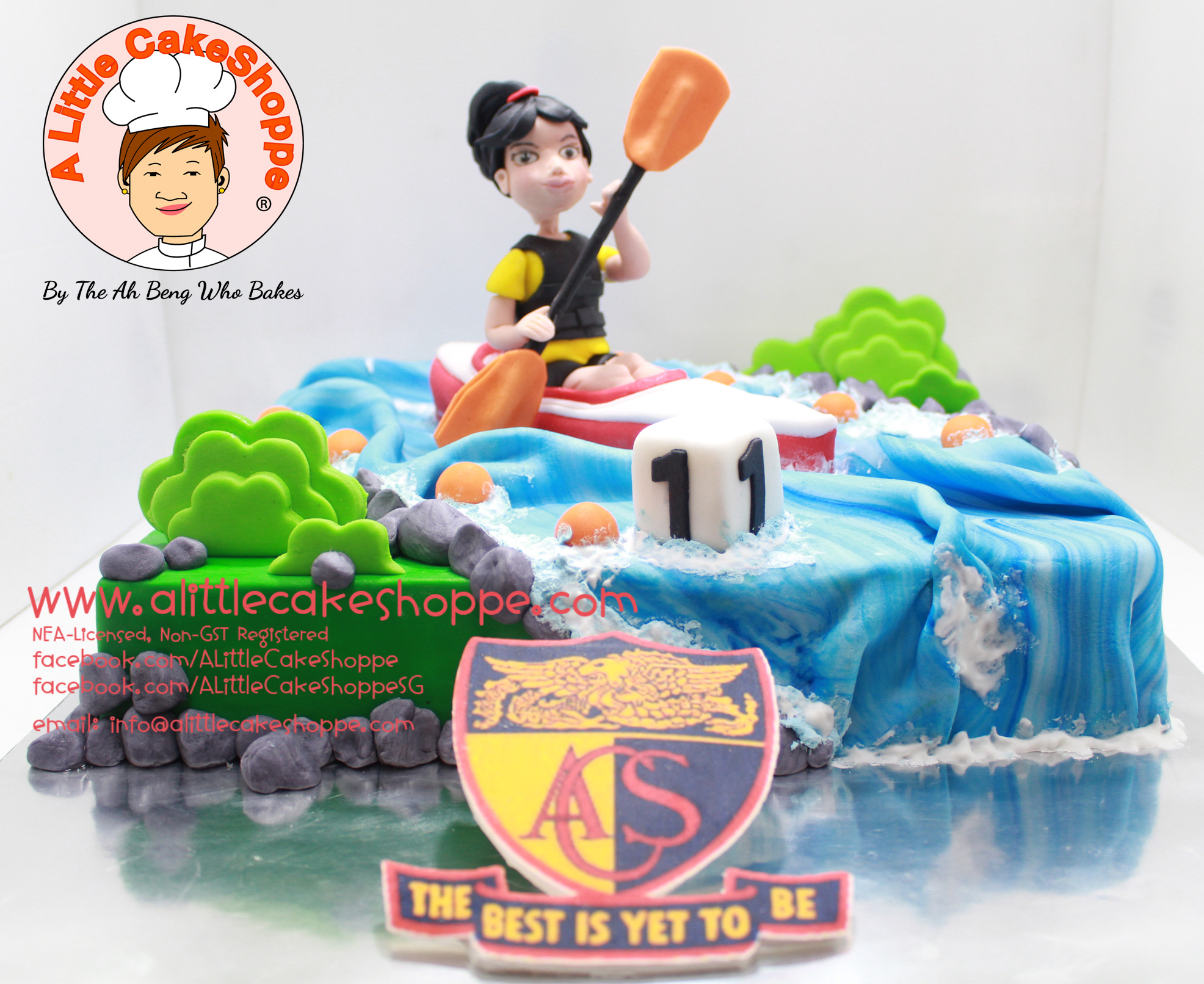 Best Customised Cake Singapore custom cake 2D 3D birthday cake cupcakes desserts wedding corporate events anniversary 1st birthday 21st birthday fondant fresh cream buttercream cakes alittlecakeshoppe a little cake shoppe compliments review singapore bakers SG cakeshop ah beng who bakes acs sports canoe