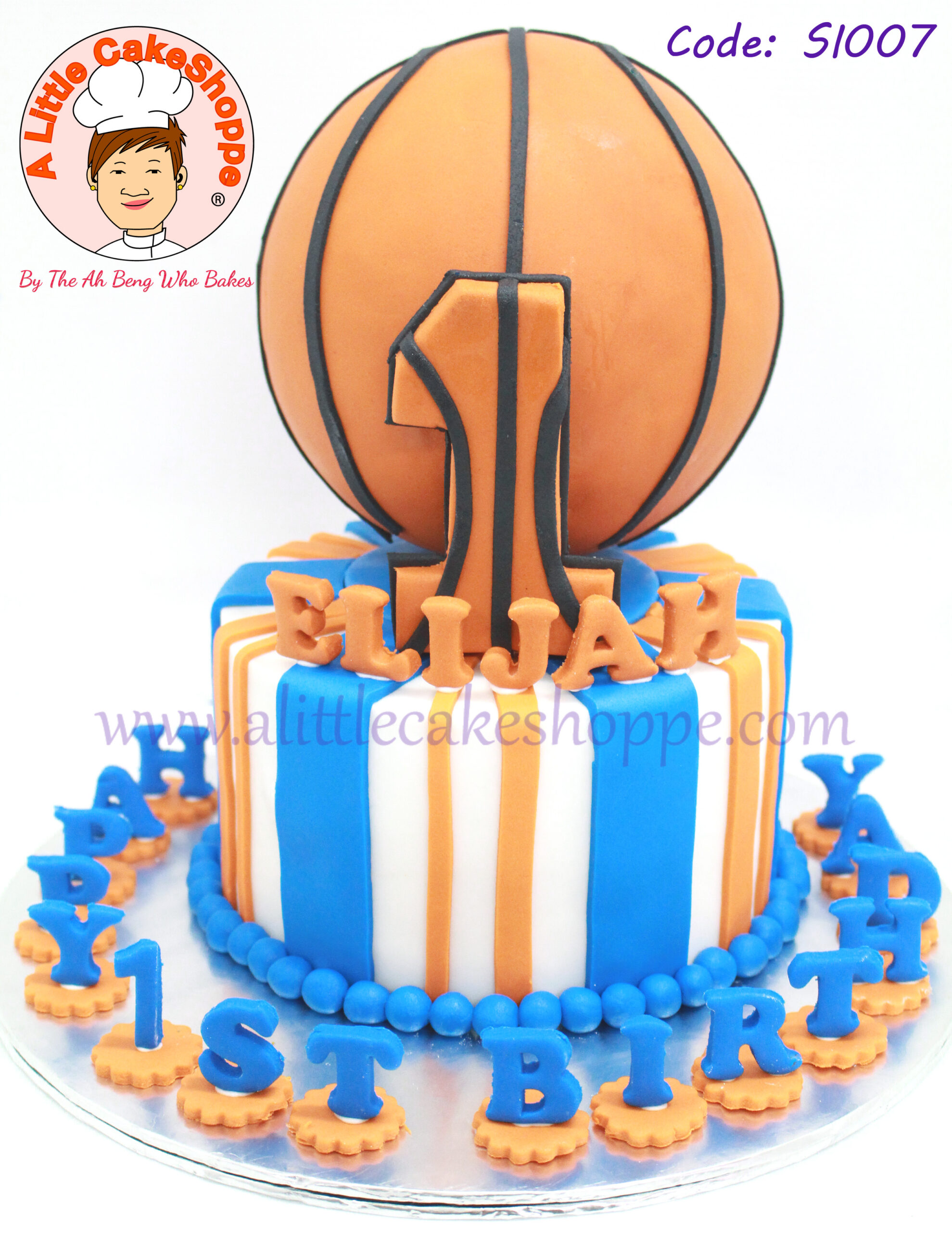 Best Customised Cake Singapore custom cake 2D 3D birthday cake cupcakes desserts wedding corporate events anniversary 1st birthday 21st birthday fondant fresh cream buttercream cakes alittlecakeshoppe a little cake shoppe compliments review singapore bakers SG cakeshop ah beng who bakes sports basketball