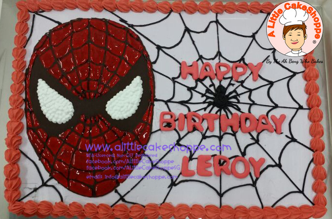 Best Customised Cake Singapore custom cake 2D 3D birthday cake cupcakes desserts wedding corporate events anniversary 1st birthday 21st birthday fondant fresh cream buttercream cakes alittlecakeshoppe a little cake shoppe compliments review singapore bakers SG cakeshop ah beng who bakes superheros spiderman dc heros avengers
