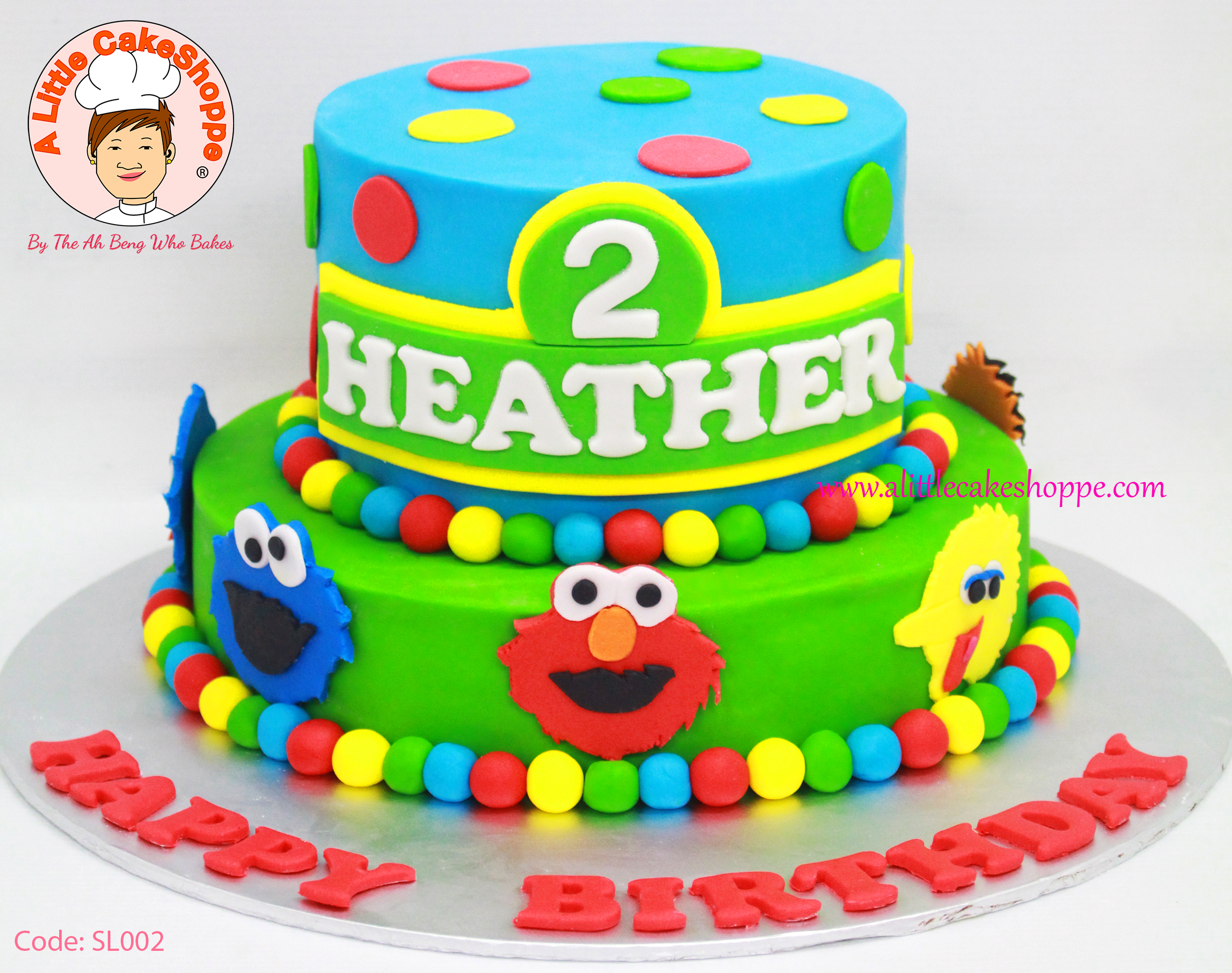 Best Customised Cake Singapore custom cake 2D 3D birthday cake cupcakes desserts wedding corporate events anniversary 1st birthday 21st birthday fondant fresh cream buttercream cakes alittlecakeshoppe a little cake shoppe compliments review singapore bakers SG cakeshop ah beng who bakes sesame street elmo cookie monster