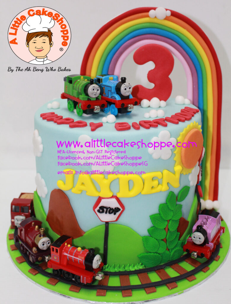Thomas Friends A Little Cakeshoppe Singapore Customized 2d And
