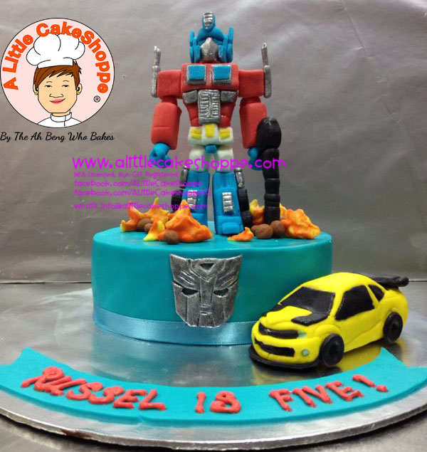 Best Customised Cake Singapore custom cake 2D 3D birthday cake cupcakes desserts wedding corporate events anniversary fondant fresh cream buttercream cakes alittlecakeshoppe a little cake shoppe compliments review singapore bakers SG cakeshop ah beng who bakes transformers