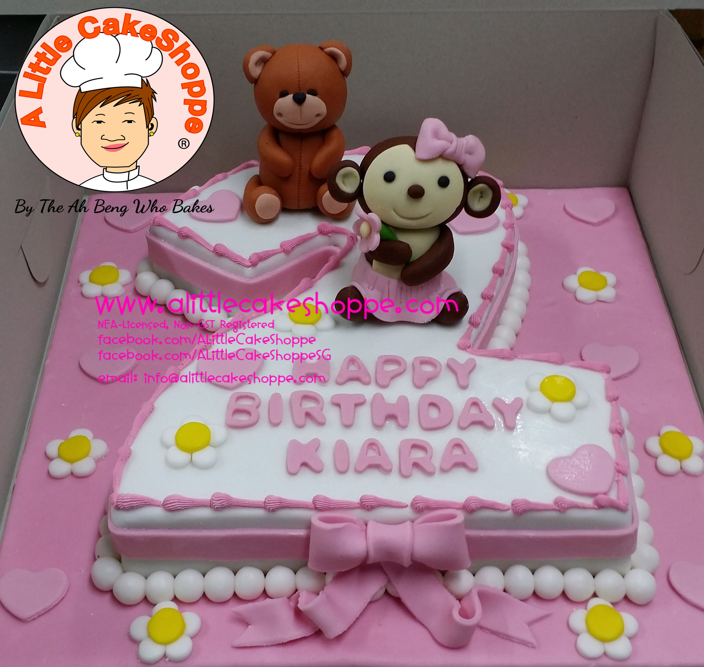 Best Customised Cake Singapore custom cake 2D 3D birthday cake cupcakes desserts wedding corporate events anniversary fondant fresh cream buttercream cakes alittlecakeshoppe a little cake shoppe compliments review singapore bakers SG cakeshop ah beng who bakes teddy bear animals