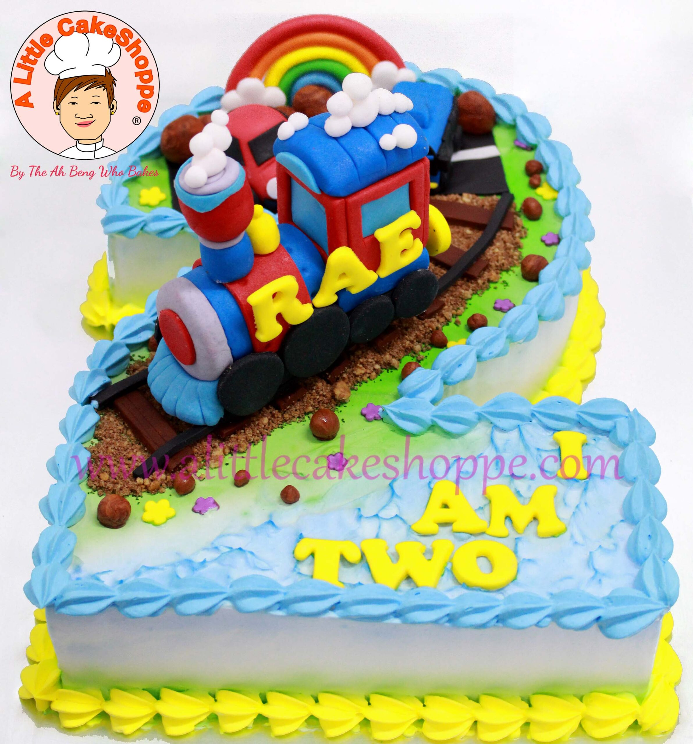 Best Customised Cake Singapore custom cake 2D 3D birthday cake cupcakes wedding corporate events anniversary fondant fresh cream buttercream cakes alittlecakeshoppe a little cake shoppe compliments review singapore bakers SG cakeshop ah beng who bakes train