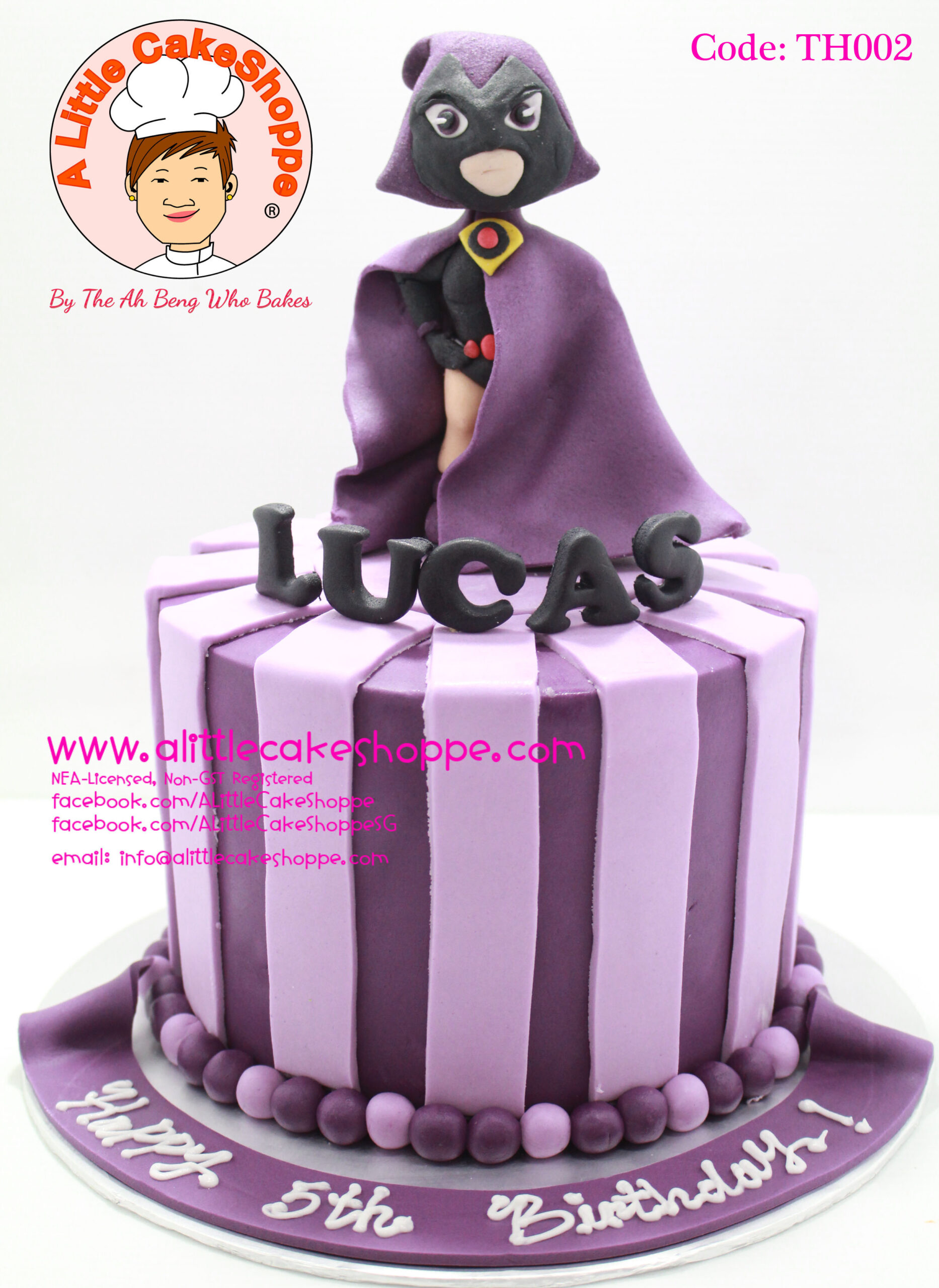 Best Customised Cake Singapore custom cake 2D 3D birthday cake cupcakes wedding corporate events anniversary fondant fresh cream buttercream cakes alittlecakeshoppe a little cake shoppe compliments review singapore bakers SG cakeshop ah beng who bakes teen titans