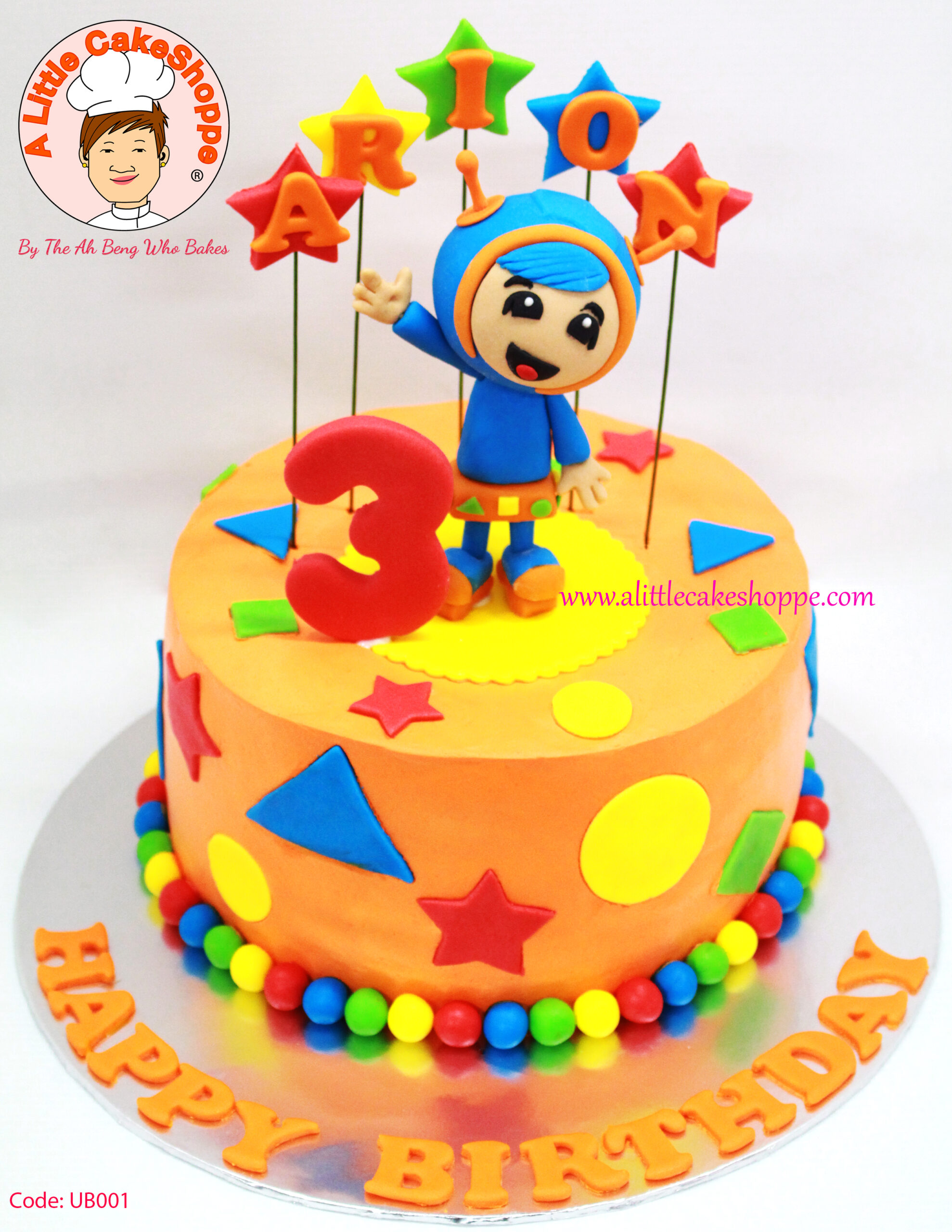 Best Customised Cake Singapore custom cake 2D 3D birthday cake cupcakes wedding corporate events anniversary fondant fresh cream buttercream cakes alittlecakeshoppe a little cake shoppe compliments review singapore bakers SG cakeshop ah beng who bakes wedding vanguard umizoomi