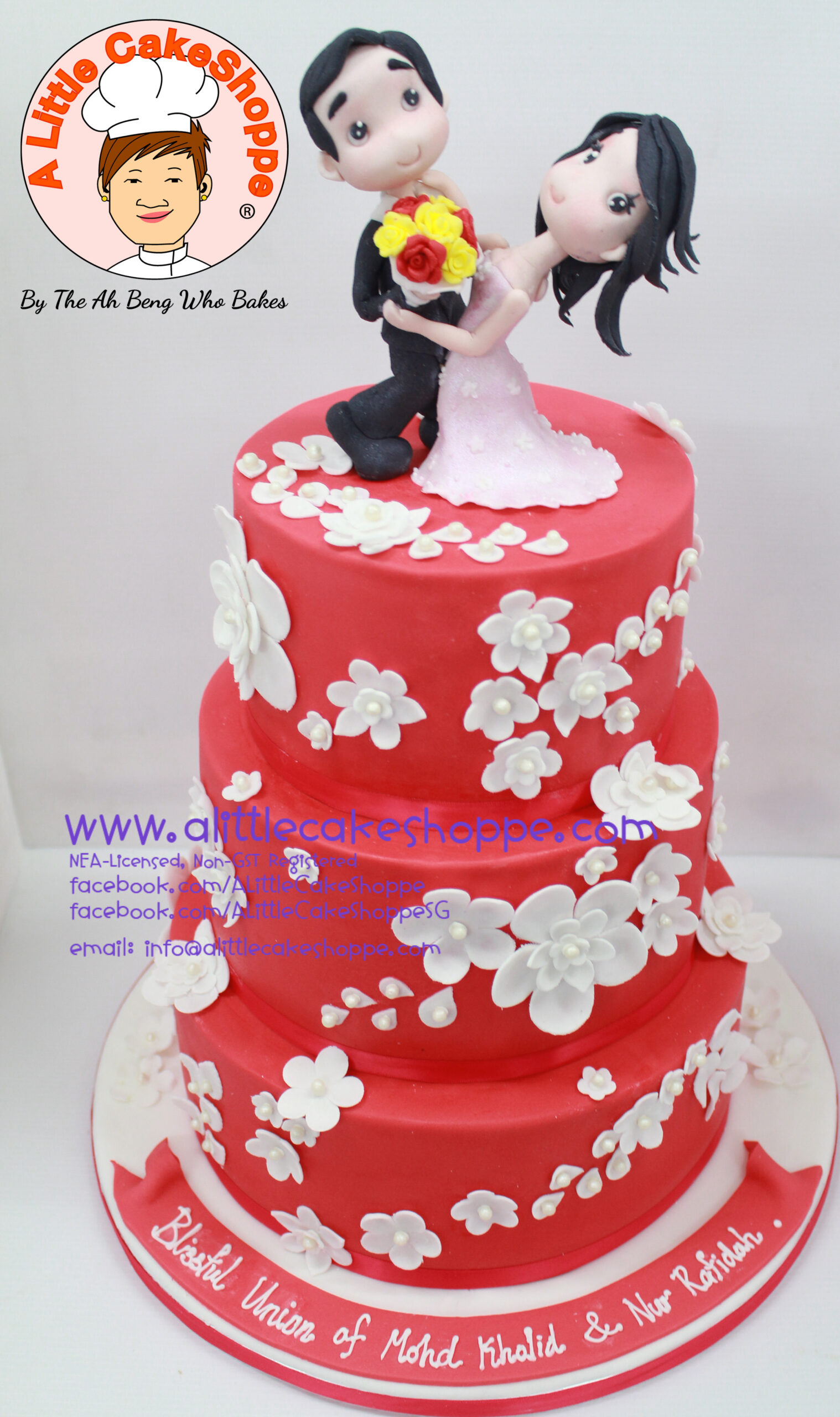 Best Customised Cake Singapore custom cake 2D 3D birthday cake cupcakes wedding corporate events anniversary fondant fresh cream buttercream cakes alittlecakeshoppe a little cake shoppe compliments review singapore bakers SG cakeshop ah beng who bakes wedding