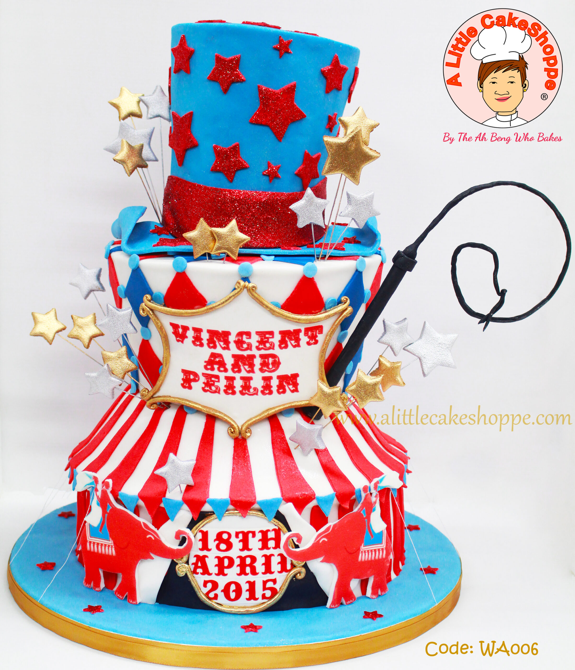 Best Customised Cake Singapore custom cake 2D 3D birthday cake cupcakes wedding corporate events anniversary fondant fresh cream buttercream cakes alittlecakeshoppe a little cake shoppe compliments review singapore bakers SG cakeshop ah beng who bakes circus wedding