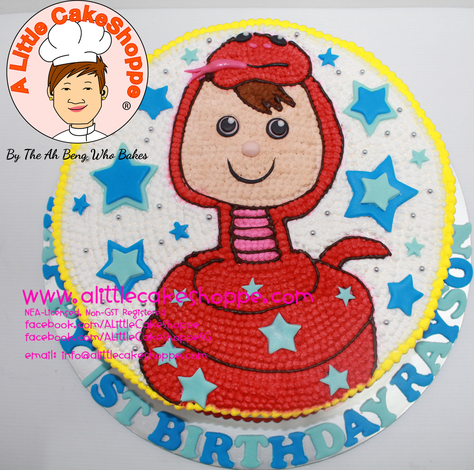 Best Customised Cake Singapore custom cake 2D 3D birthday cake cupcakes wedding corporate events anniversary fondant fresh cream buttercream cakes alittlecakeshoppe compliments review singapore bakers SG cakeshop ah beng who bakes animal cake